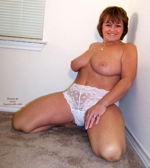 Pic #5 - Claire Removes White Shirt And Panties