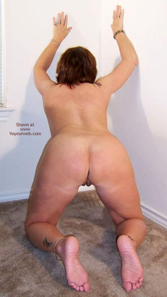Pic #8 - Claire Removes White Shirt And Panties
