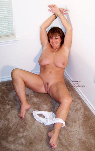 Pic #10 - Claire Removes White Shirt And Panties