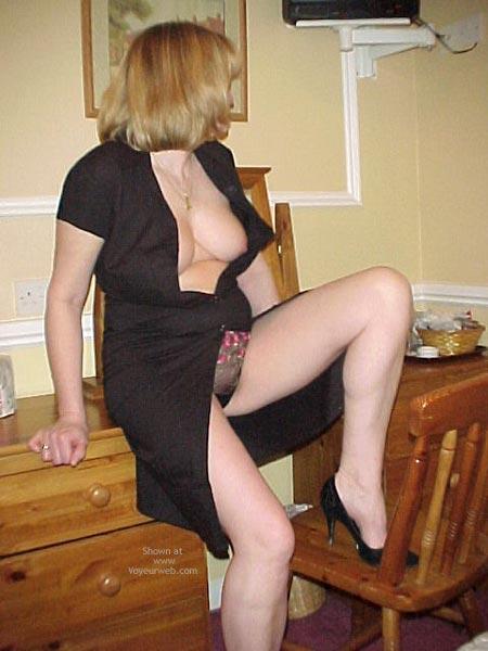 Pic #2 - Debbie Gets Naked