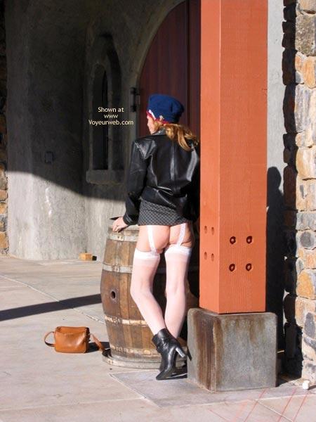 Pic #1 - Butt Flashing - Flashing , Butt Flashing, White Stockings
