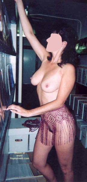 Pic #6 - Angie At The Playboy Store 8 Part 3