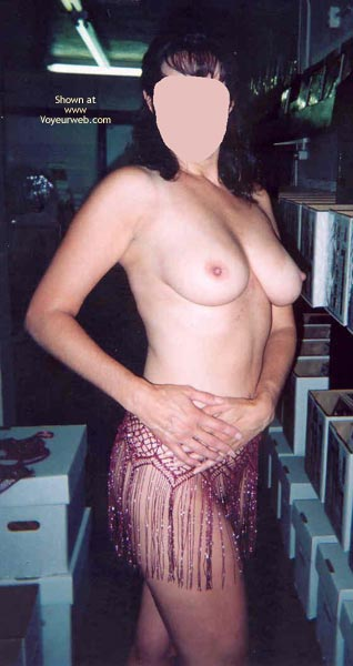 Pic #7 - Angie At The Playboy Store 8 Part 3