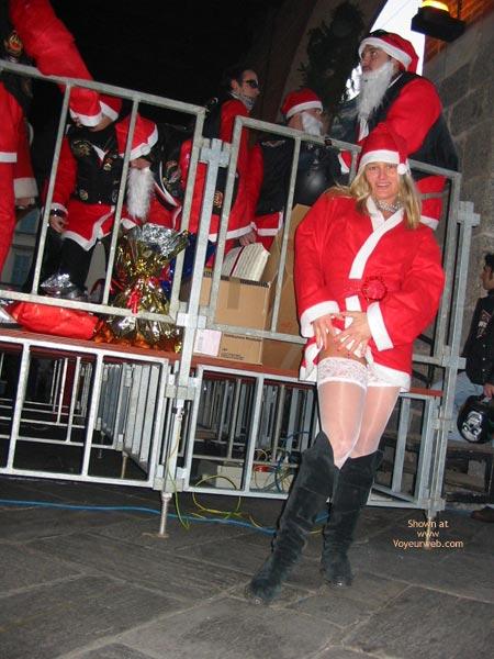 Pic #1 - Elise Like Santa Claus