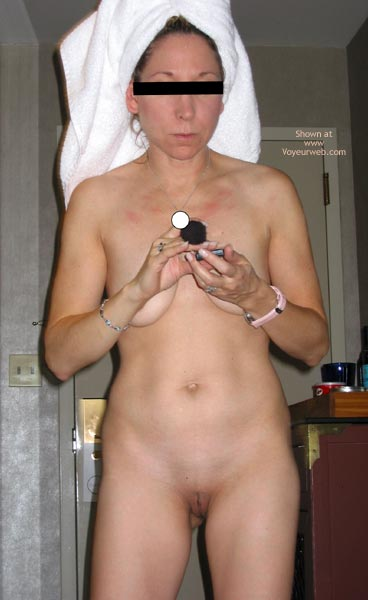 Pic #1 - 40 Yr Old Wife Getting Ready In The Am