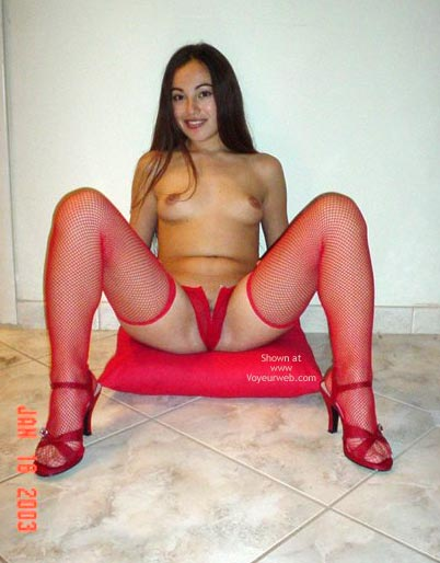Pic #7 - Bomba Latina in Hot Red
