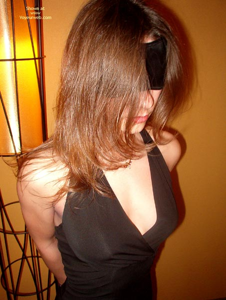 Pic #1 - Mia Rocks Blindfolded