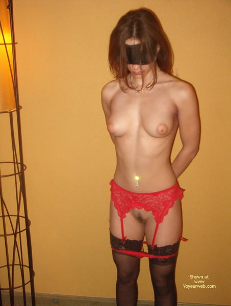 Pic #7 - Mia Rocks Blindfolded