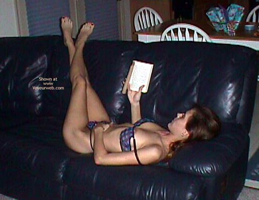 Pic #5 - Reading and Dreaming