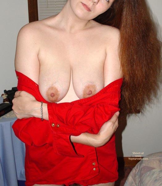 Pic #5 - TJ Wearing My Red Shirt 2