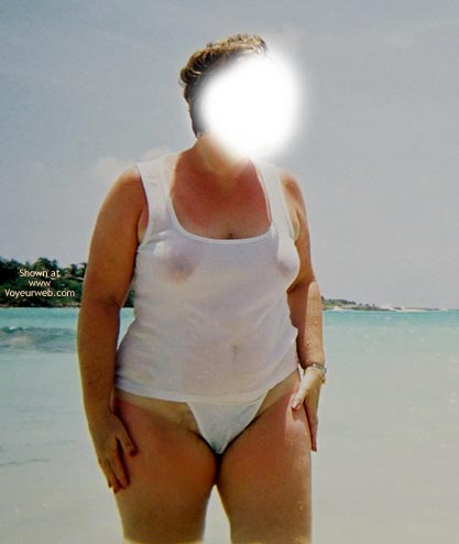 Pic #8 - 1st Time - BBW On Vacation
