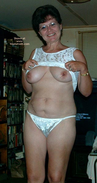 Pic #2 - Marie at 49 in White Lace