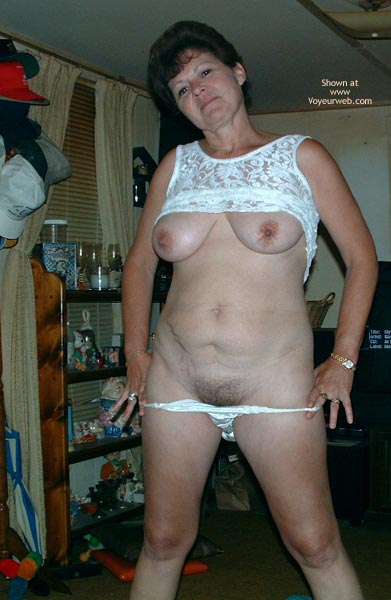 Pic #7 - Marie at 49 in White Lace