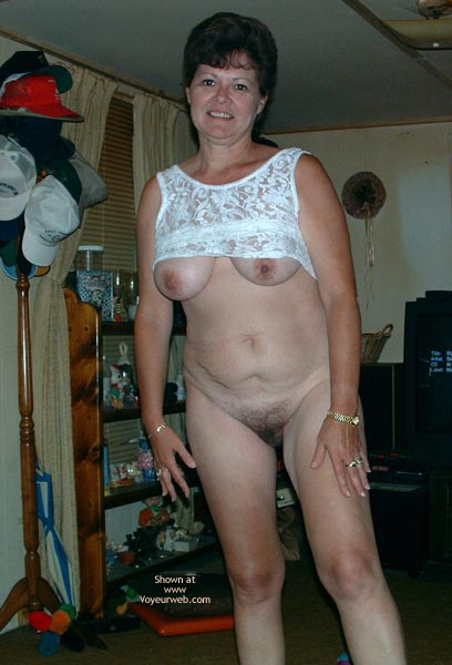 Pic #9 - Marie at 49 in White Lace