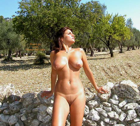 Pic #6 - Vanessa In The Olive Grove