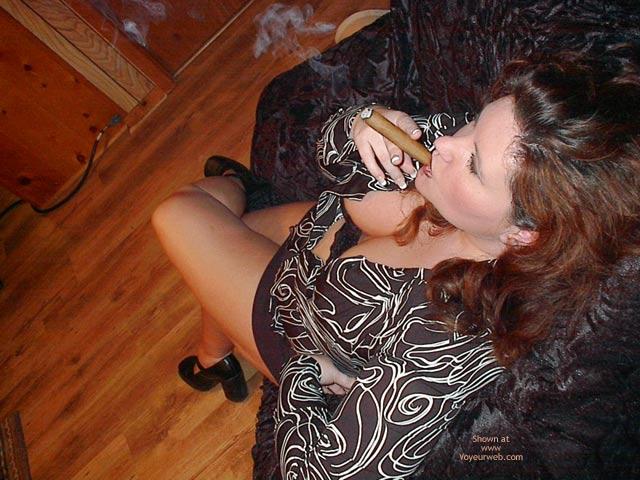 Pic #3 - Bella Bbw Cigar Seduction