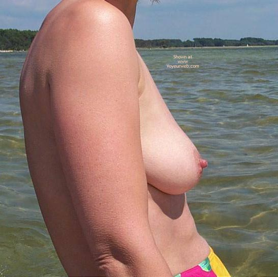 Pic #8 - My Wife Cindy at The Lake