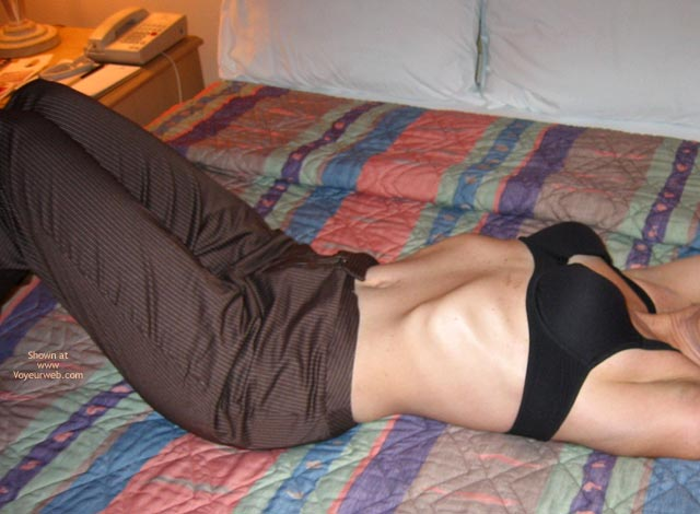 Pic #6 - Will The Striped Pants Come Off?