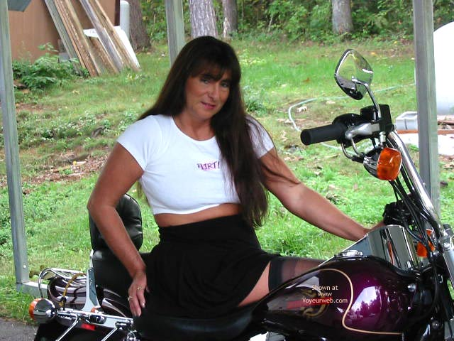 Pic #1 - Victoria Loves A Harley