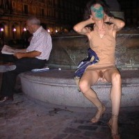 Nude In Public - Hairy Pussy, No Panties, Nude In Public, Upskirt, Pussy Flash