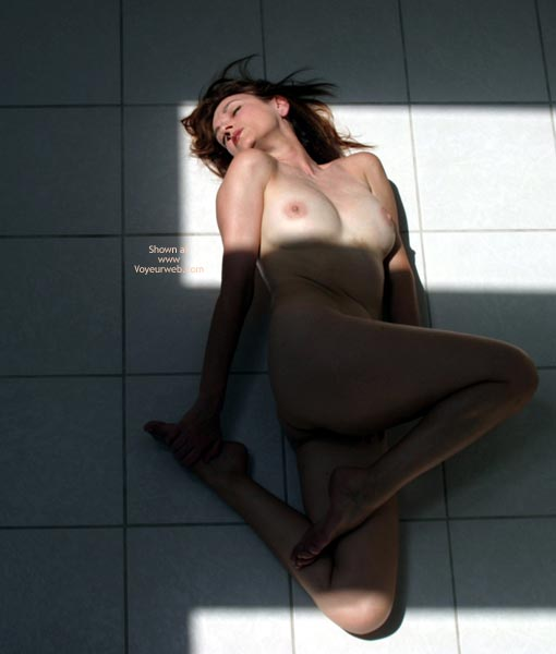Pic #3 - Laila Naked On Tile