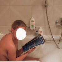 Gf Taking A Bath, And Lake Coke And Tonic