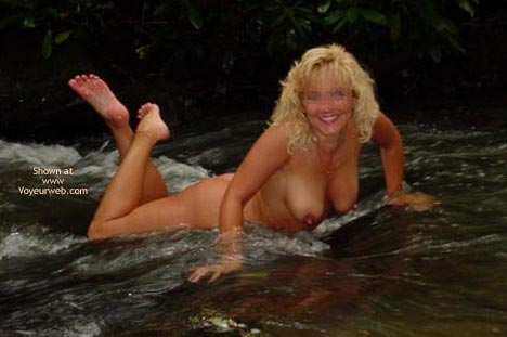 Pic #4 - *MN Hot Wife Cassie in The Stream 2