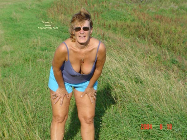 Pic #1 - 58 Year Old Canadian Wife Outdoors