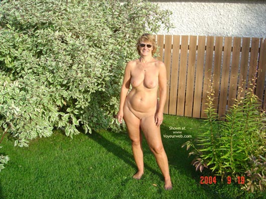 Pic #8 - 58 Year Old Canadian Wife Outdoors