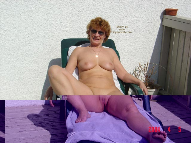 Pic #9 - 58 Year Old Canadian Wife Outdoors
