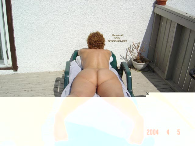 Pic #10 - 58 Year Old Canadian Wife Outdoors