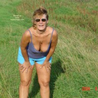 58 Year Old Canadian Wife Outdoors