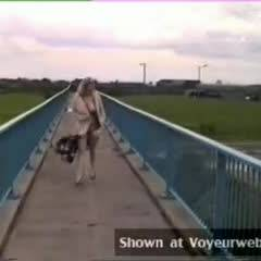 Motorway Walk - Flashing, Public Exhibitionist, Public Place