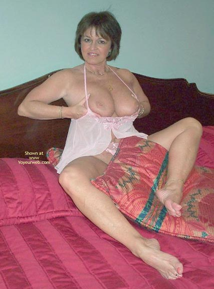 Pic #2 - Sexy Claire On The Bed!