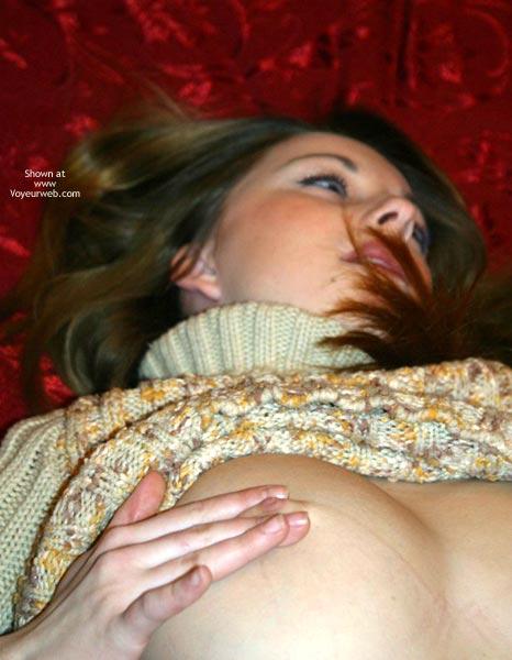 Pic #5 - Meg Big Natural Tit Return