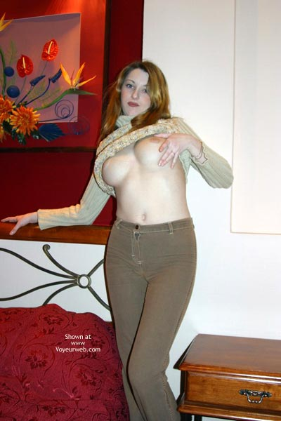 Pic #8 - Meg Big Natural Tit Return