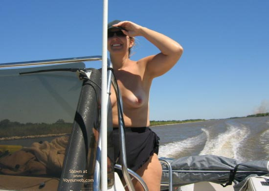Pic #3 - Ms. CajunJoker on the water