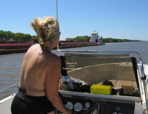 Pic #5 - Ms. CajunJoker on the water