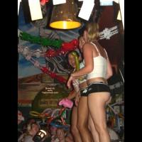 Girl at Senior Frog's in Mazatlan