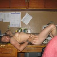 Debbie Lace - Taking A Break At Work