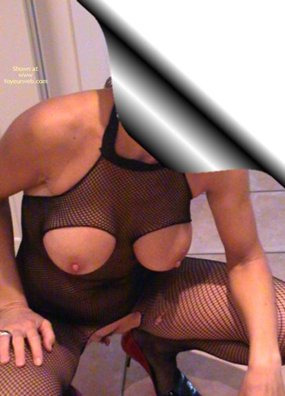 Pic #5 - Wife In Red 45yo Fishnet