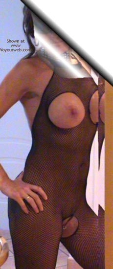 Pic #7 - Wife In Red 45yo Fishnet