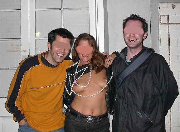 Pic #3 - Carol At Mardi Gras 2003