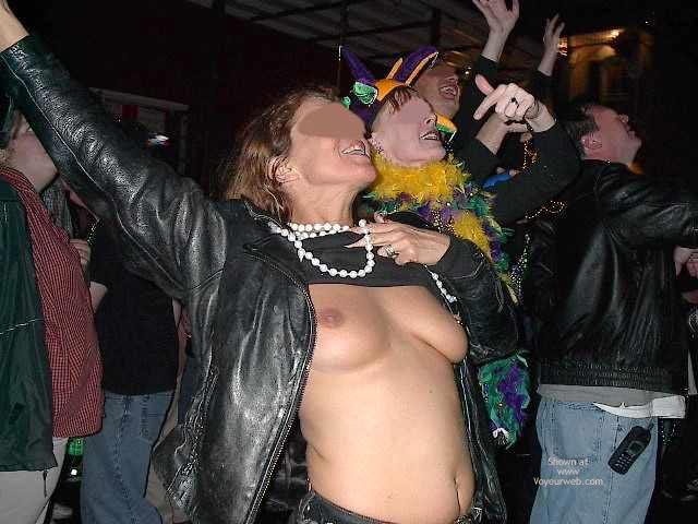 Pic #4 - Carol At Mardi Gras 2003