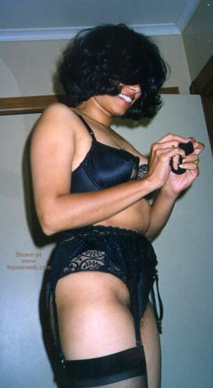 Pic #3 - Indian Wife In And Out Of Garter