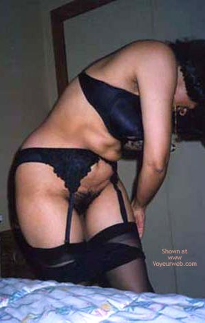 Pic #5 - Indian Wife In And Out Of Garter