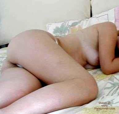 Pic #1 - White Thong
