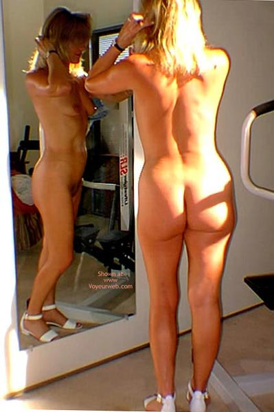 Pic #9 - Stripping In Front Of The Mirror