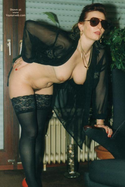 Pic #3 - Lady Again With Lingerie