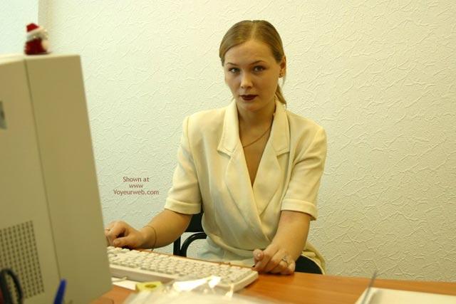Pic #1 - Sophie'S Office Strip Teasing